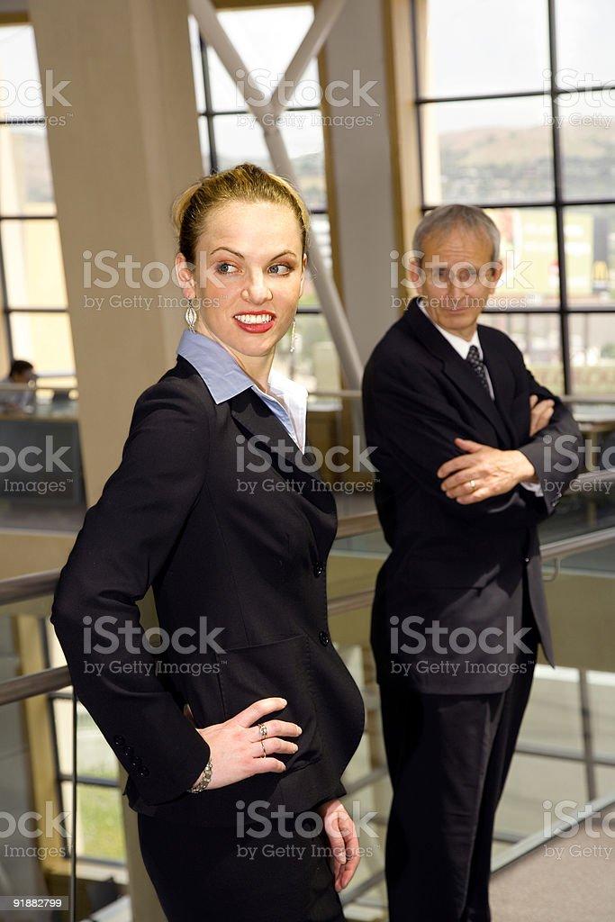 Radiating Confidence. royalty-free stock photo