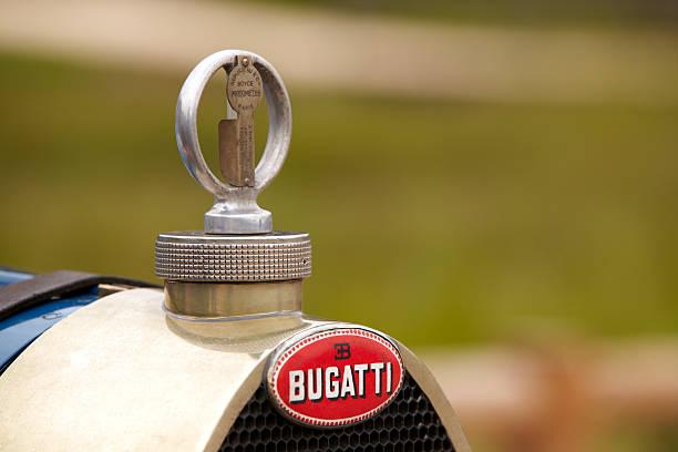 Radiator Bugatti T 35 stock photo