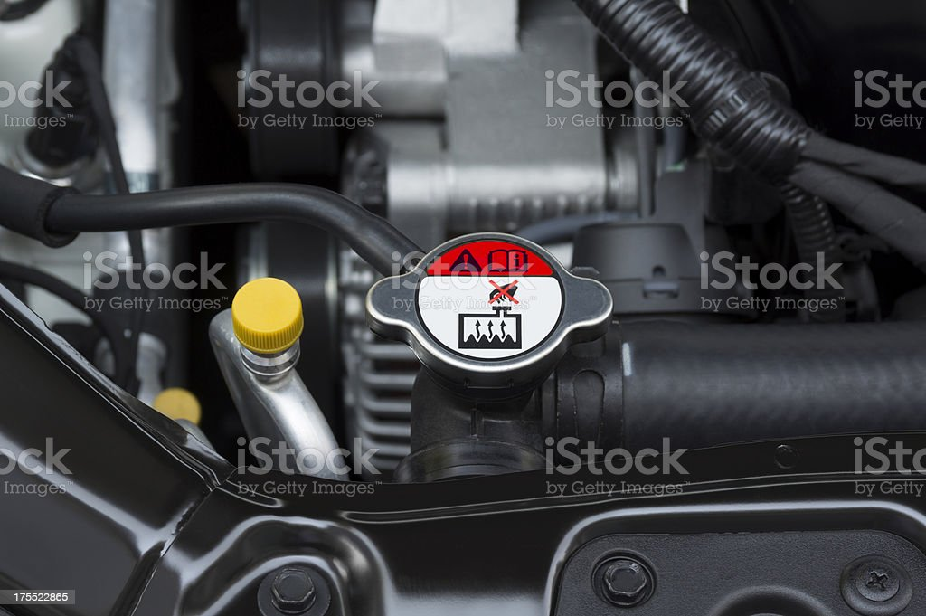 Radiator Cap stock photo