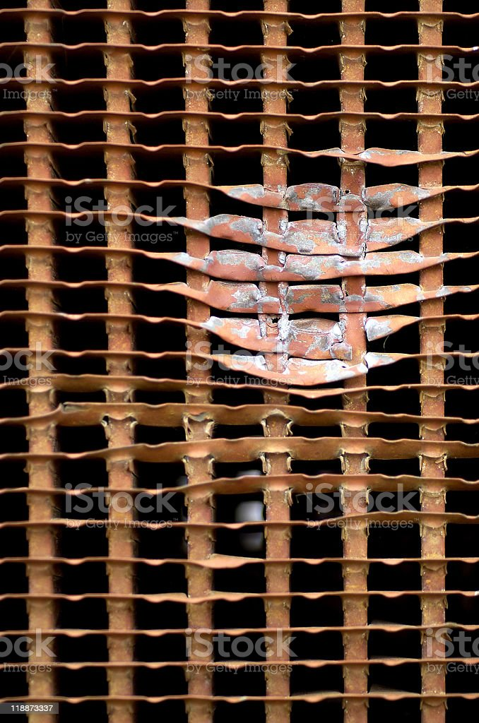 Radiator Grille Abstract royalty-free stock photo