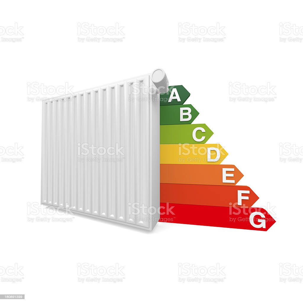 Radiator Heating royalty-free stock photo