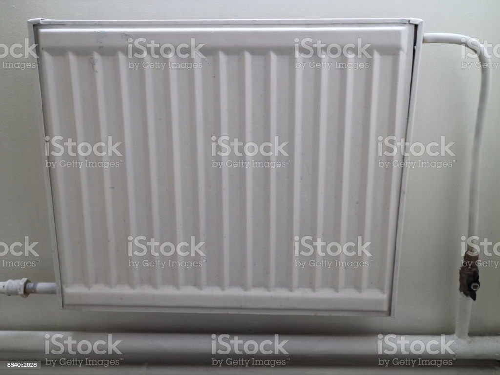 Radiator Of Water Heating Two Pipe System Of Heat Supply