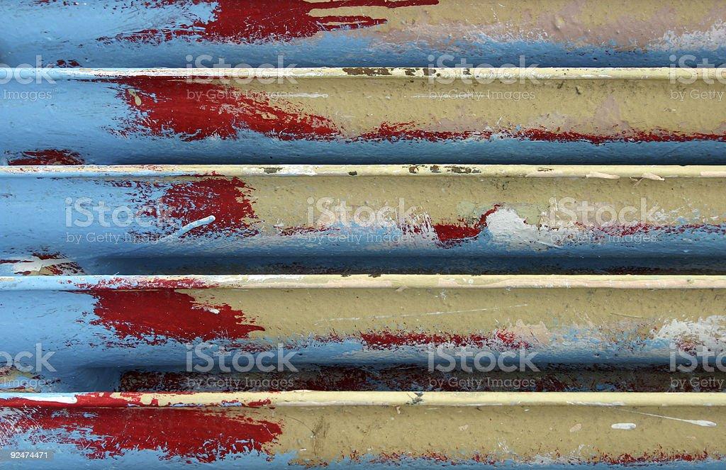 CMYK radiator royalty-free stock photo