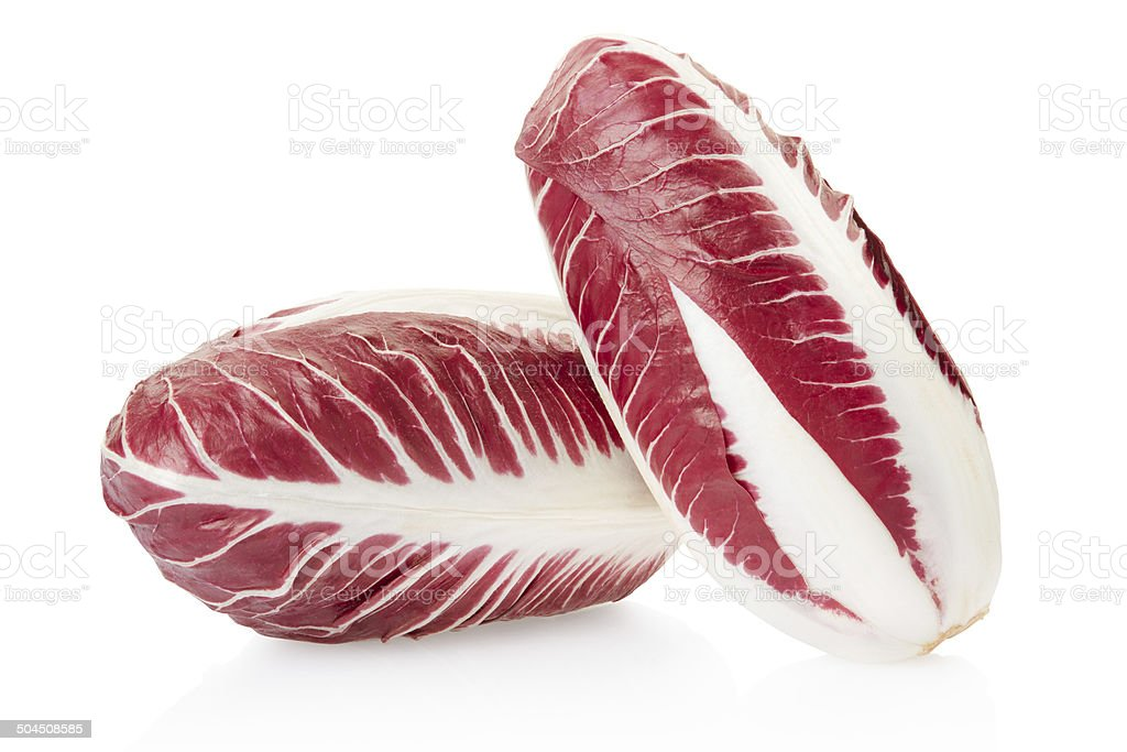 Radicchio, red salad stock photo