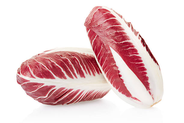 Achicoria roja, rojo ensalada - foto de stock