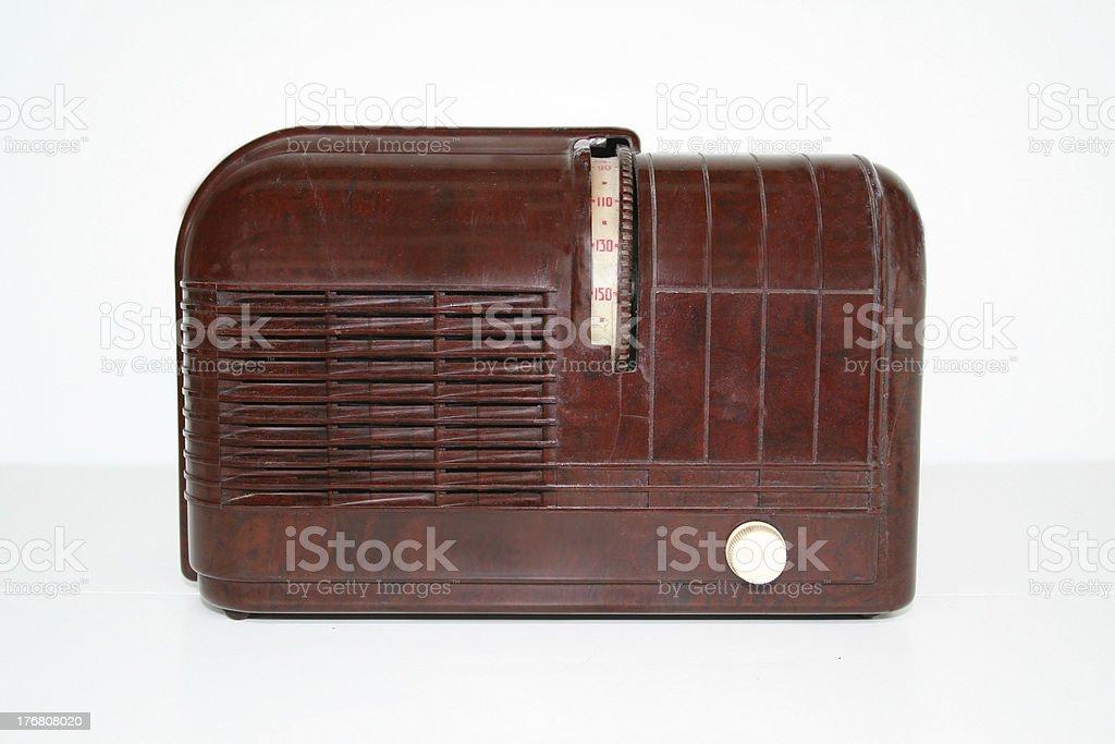 Radio 1939 royalty-free stock photo