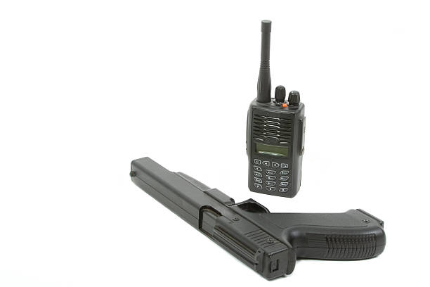 Radio und gun – Foto