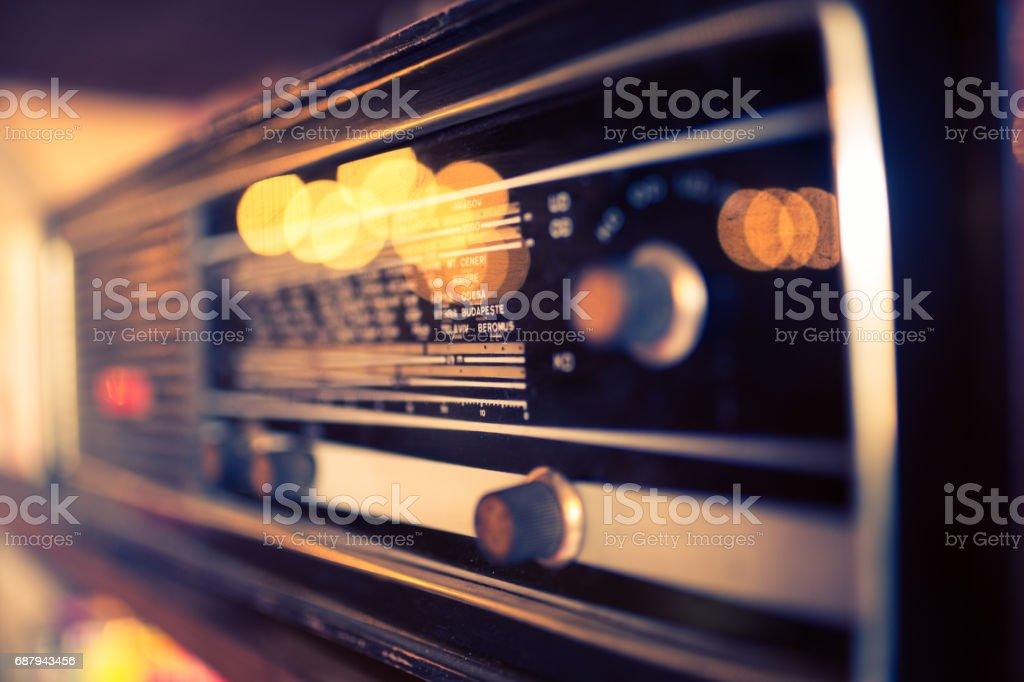 Radio Hintergrund – Foto