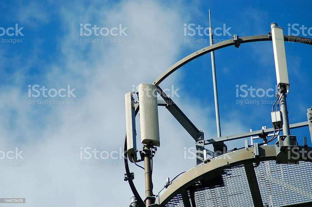 radio base station royalty-free stock photo