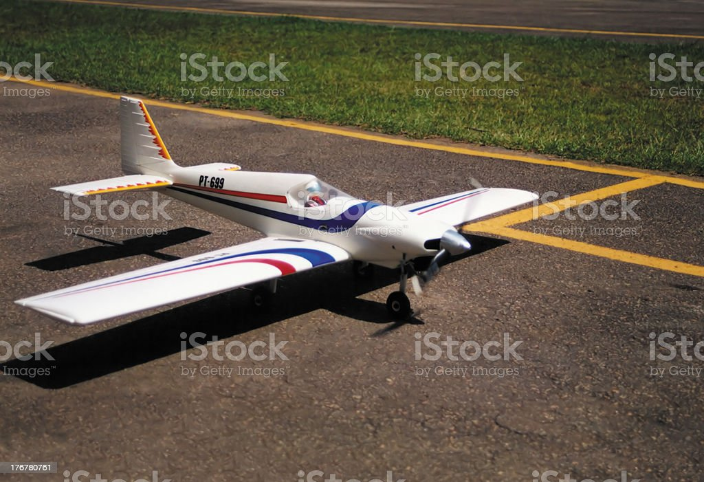 Radio Controlled Airplane royalty-free stock photo