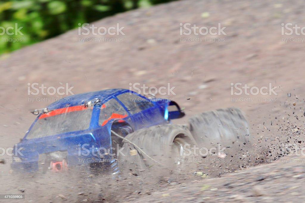 Radio controlled toy car stock photo