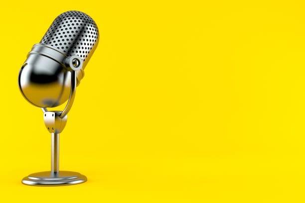 Radio microphone - foto stock