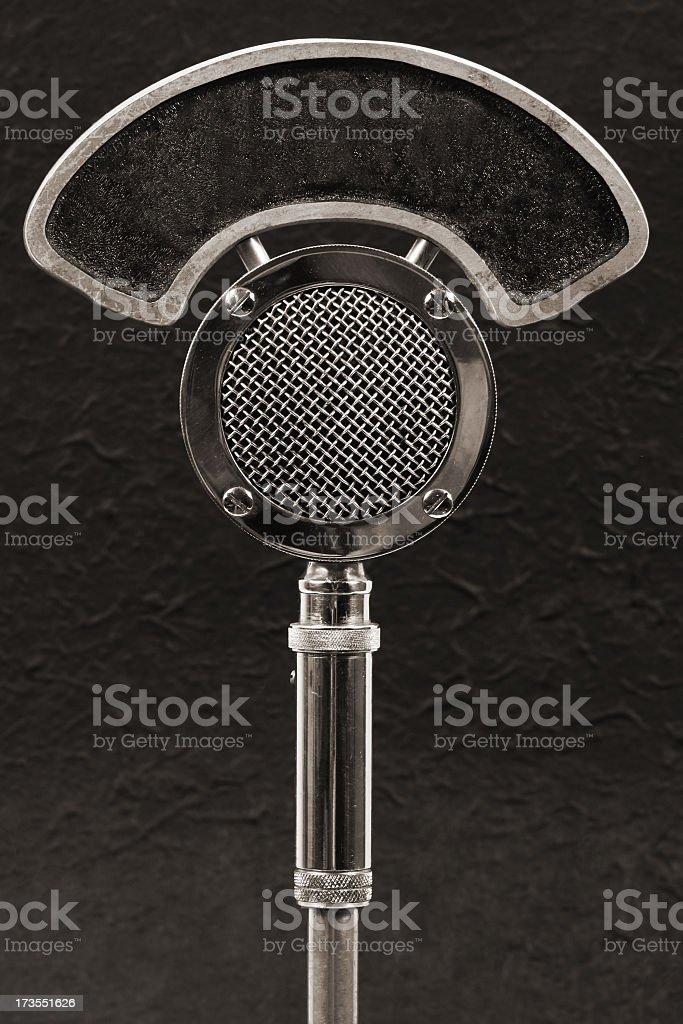 Microfone de rádio - foto de acervo