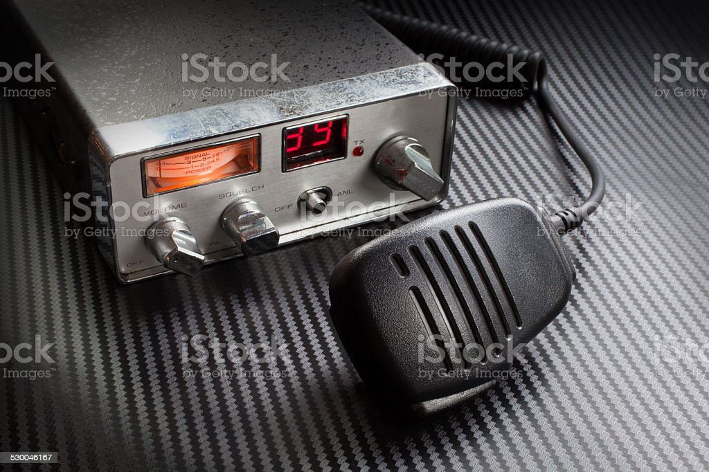 CB radio stock photo
