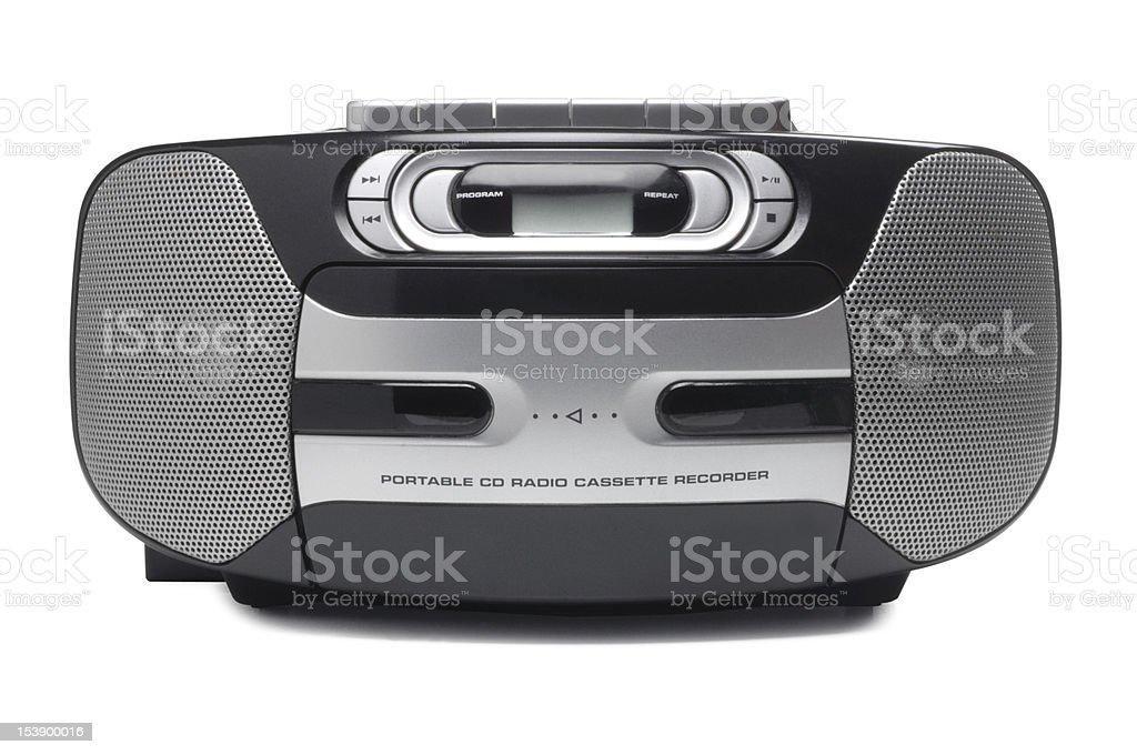 CD Radio Player stock photo