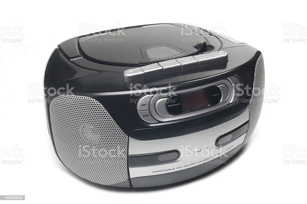 CD Radio Player stock photo