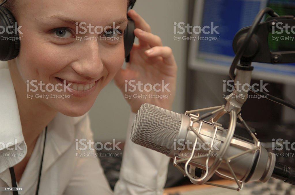 radio speaker royalty-free stock photo