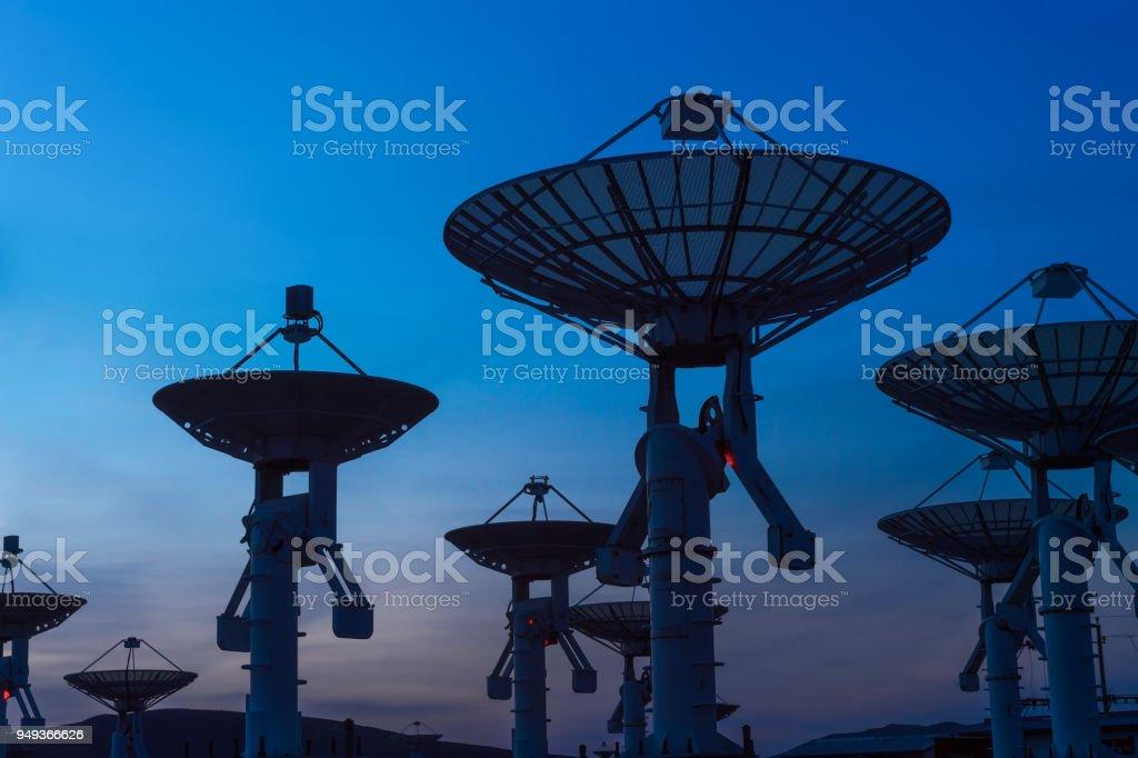 Funkfrequenzen Imager array – Foto