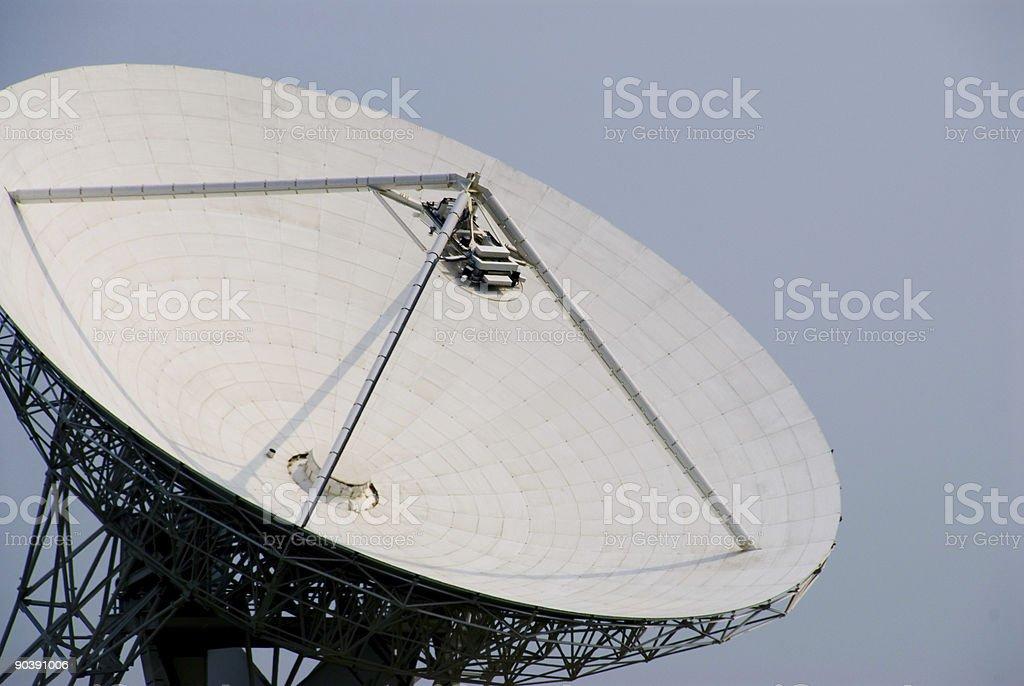 radio  telescope 01 stock photo