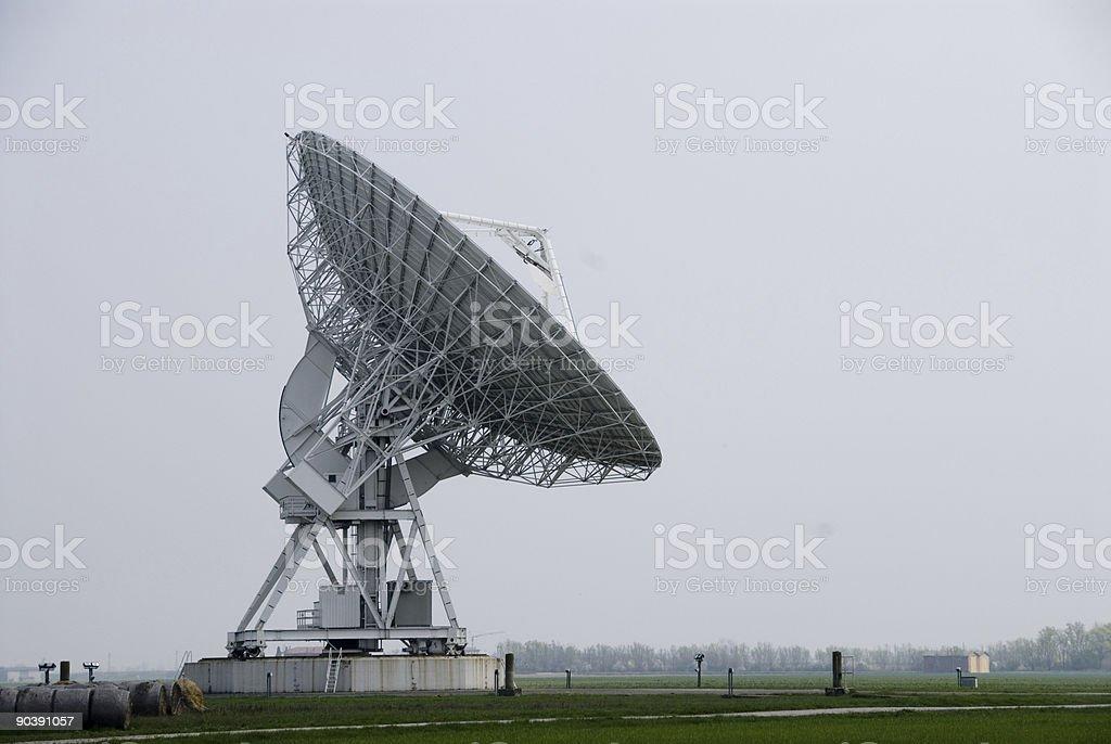 radio telescope 03 stock photo