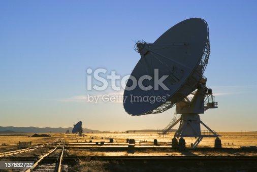 VLA radio telescope in New Mexico USA