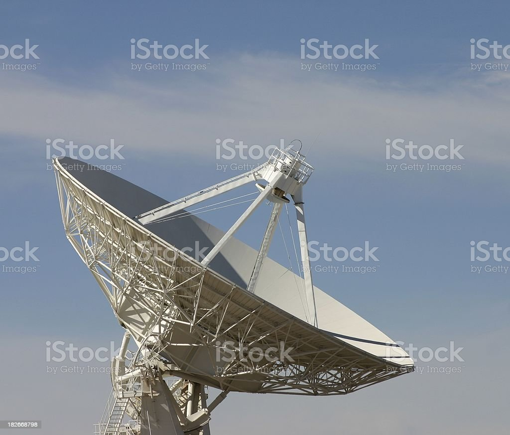 Radio telescope #1 royalty-free stock photo