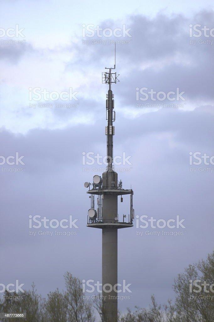 Foto de Radio Tower e mais fotos de stock de Alto