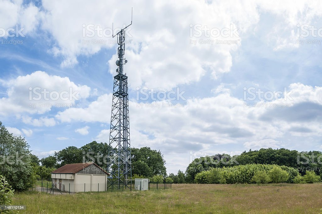 Radio Tower, Transmitting Station stock photo