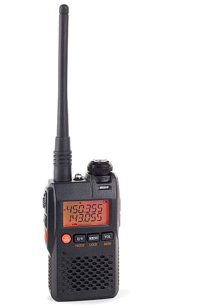 radio transceiver uhf vhf - ham radio stock photos and pictures