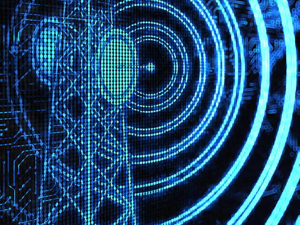 radio wave - frequenz stock-fotos und bilder