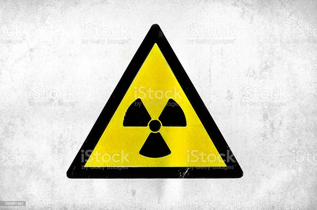 radioactice royalty-free stock photo