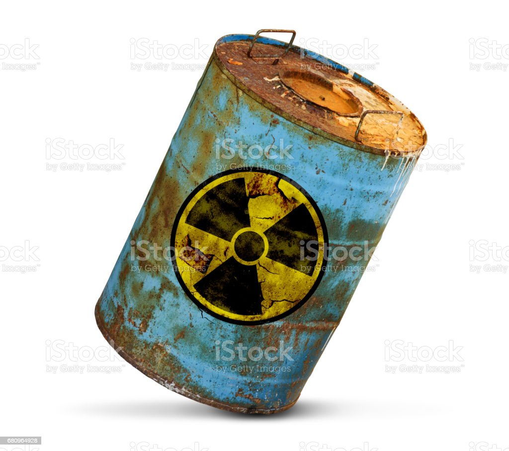 radioactive pollution concept royalty-free stock photo