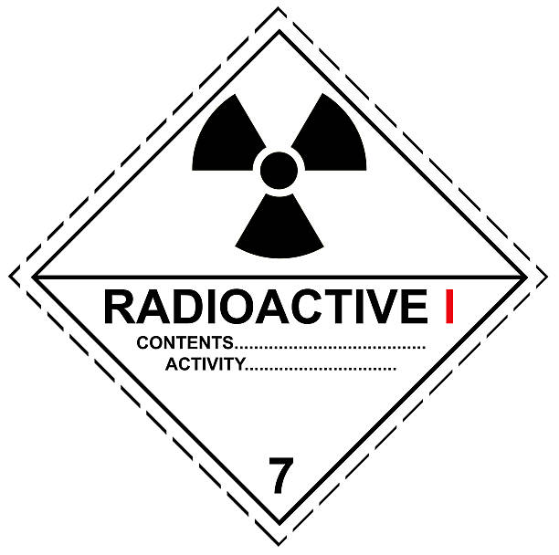 Royalty Free Silhouette Of A Radioactive Symbol Text Pictures