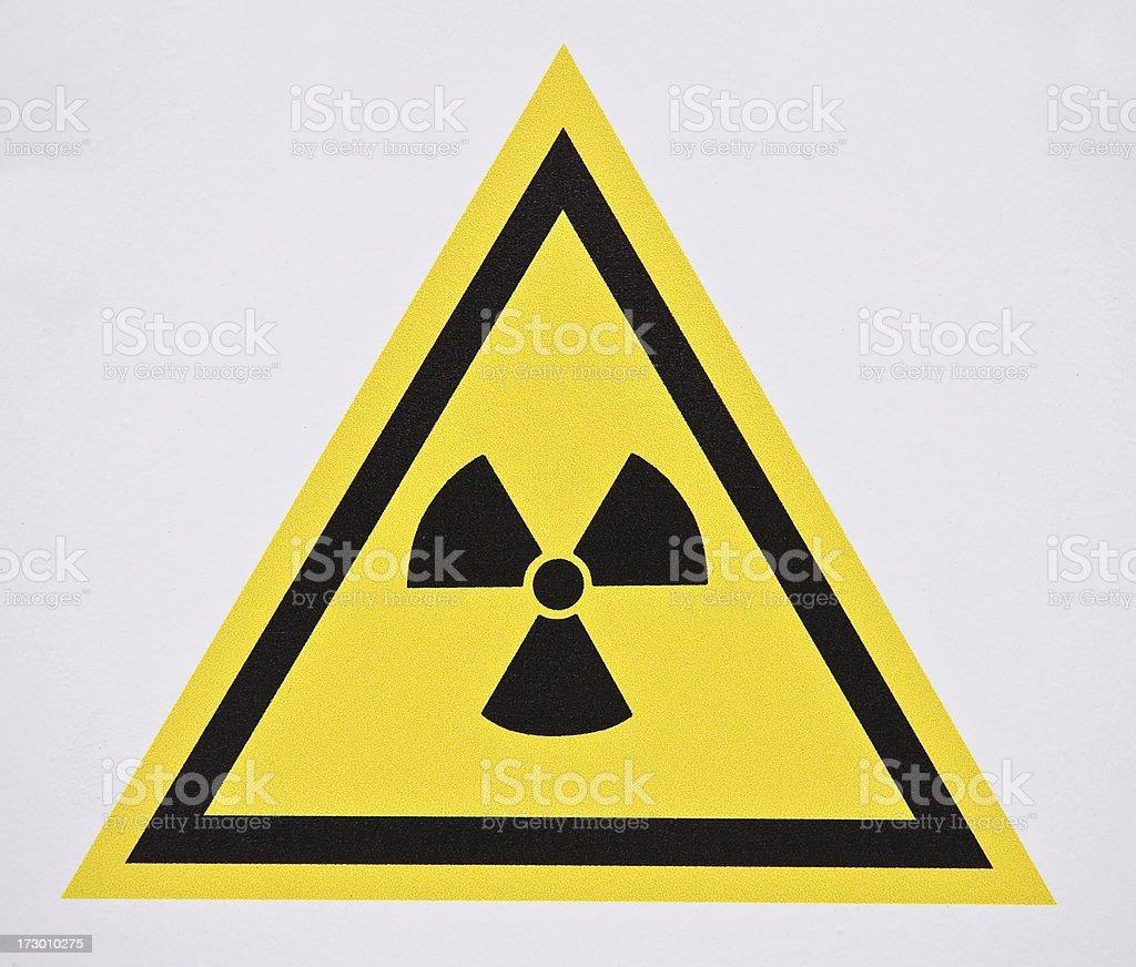 Radioactivity royalty-free stock photo