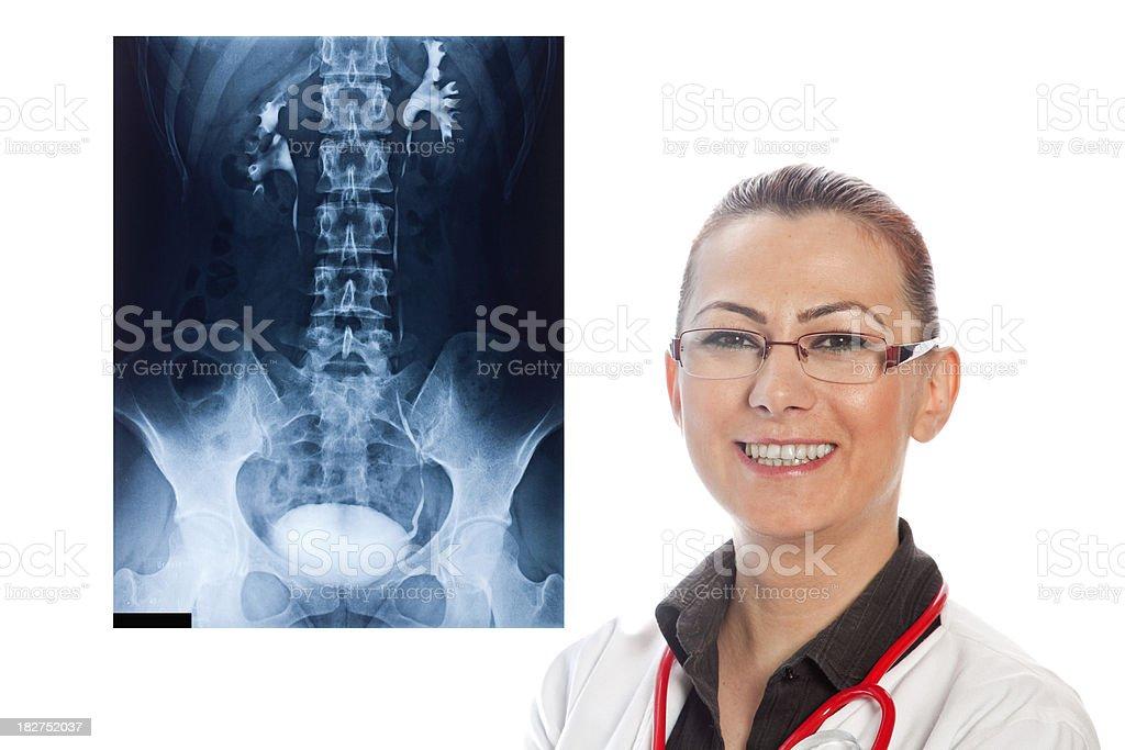 Radiology Consultation stock photo