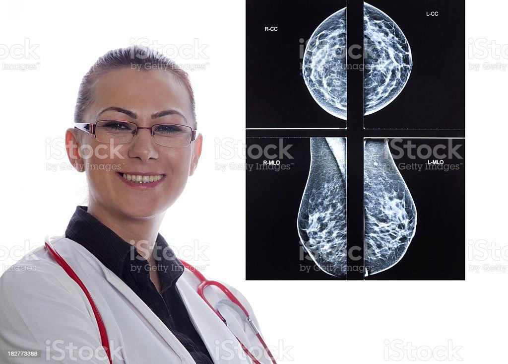 Radiology Consultation royalty-free stock photo