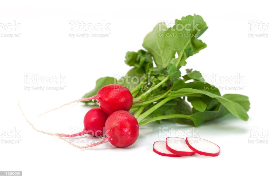 Radish fresh stock photo