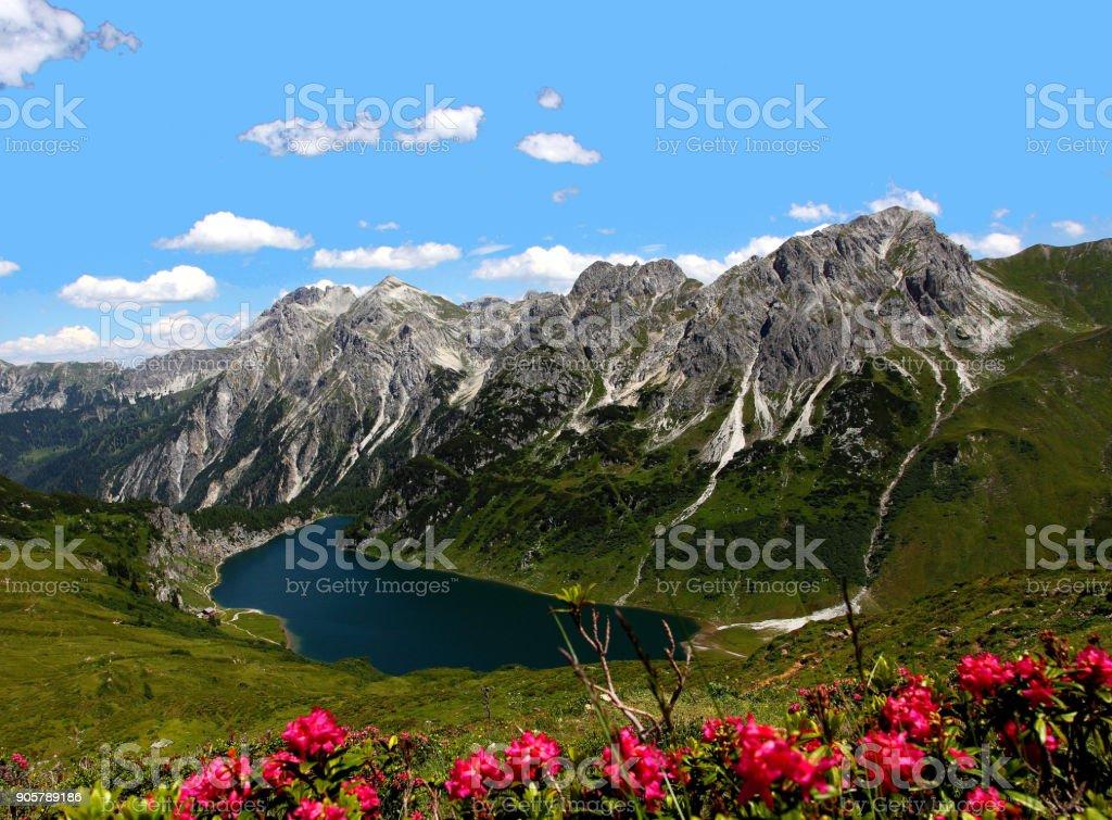 Radstadt Tauern, Tappenkar Lake, Austria stock photo