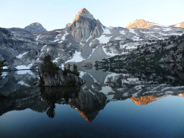 Rae Lakes - Sequoia & Kings Canyon National Parks stock photo