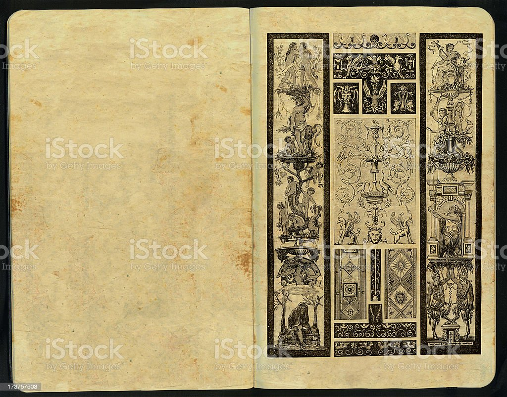 Rafael´s Sketch Pad royalty-free stock photo