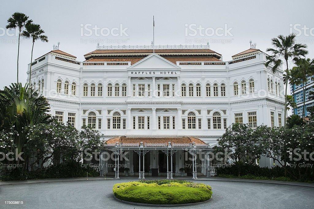 raffles hotel royalty-free stock photo
