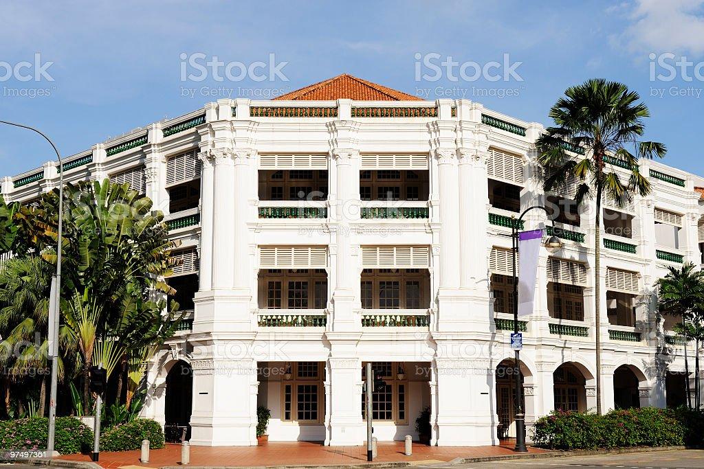 Raffles Hotel, Singapore royalty-free stock photo