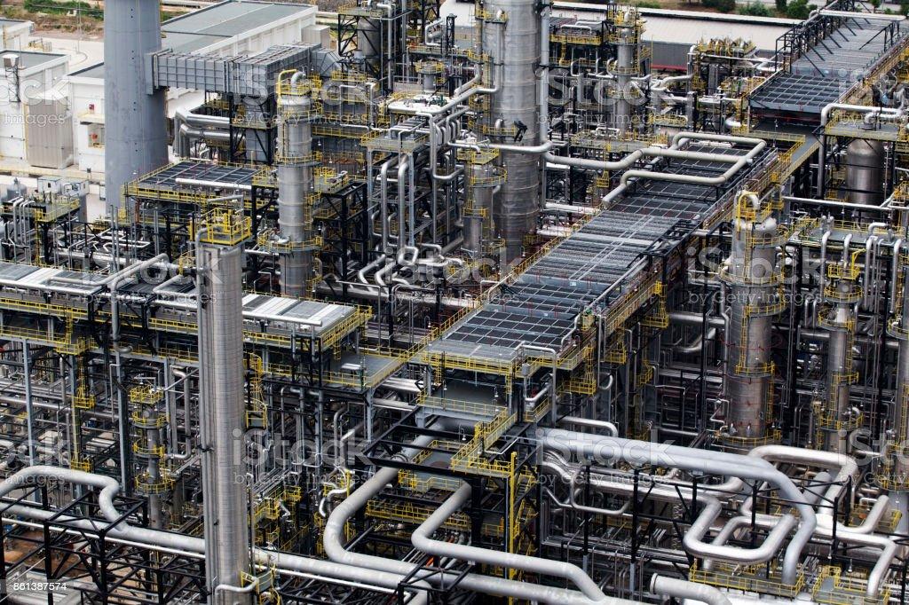 Rafinery stock photo