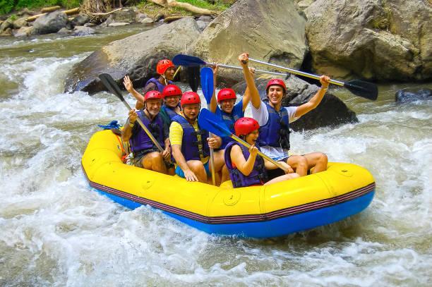 Rafting im Canyon auf Balis Bergfluss – Foto