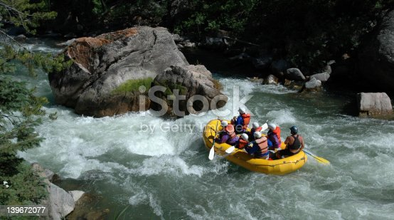 istock Rafting on the Gallatin River 139672077