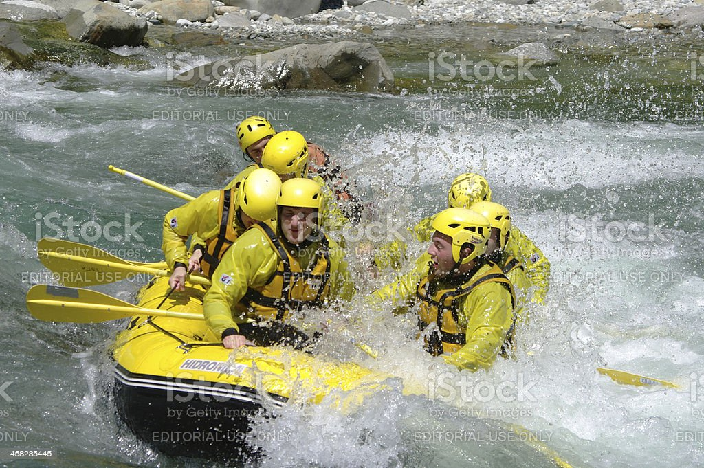 Rafting! royalty-free stock photo