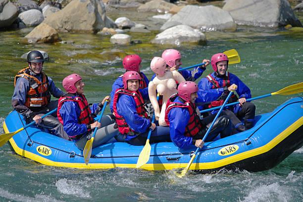 Rafting - foto stock