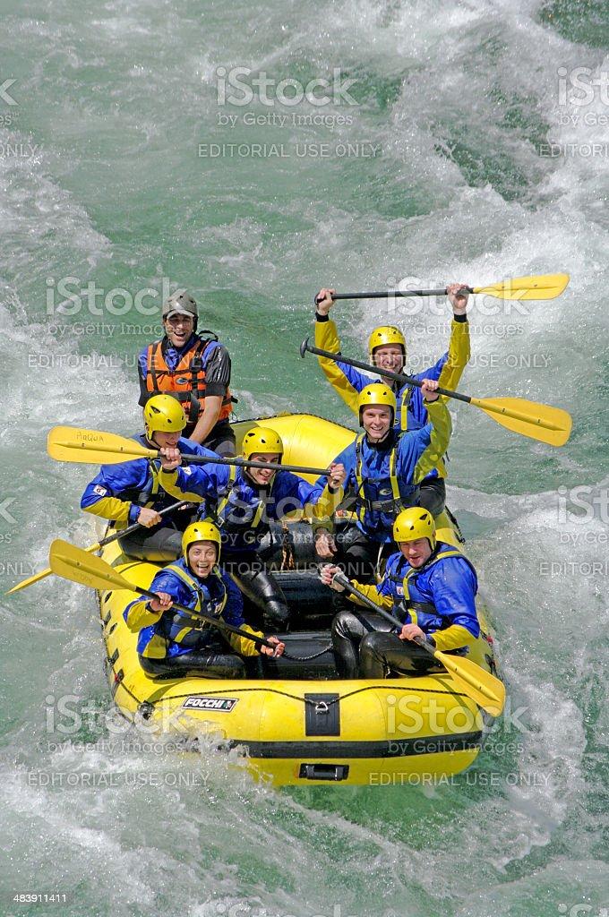 Rafting stock photo