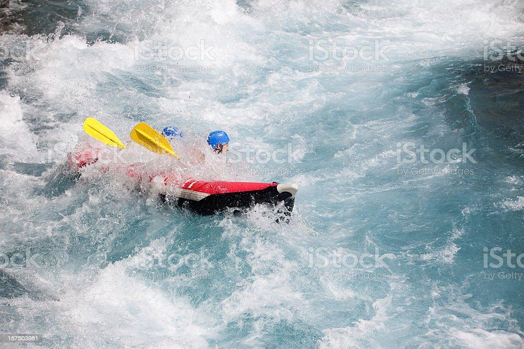 Rafting series royalty-free stock photo