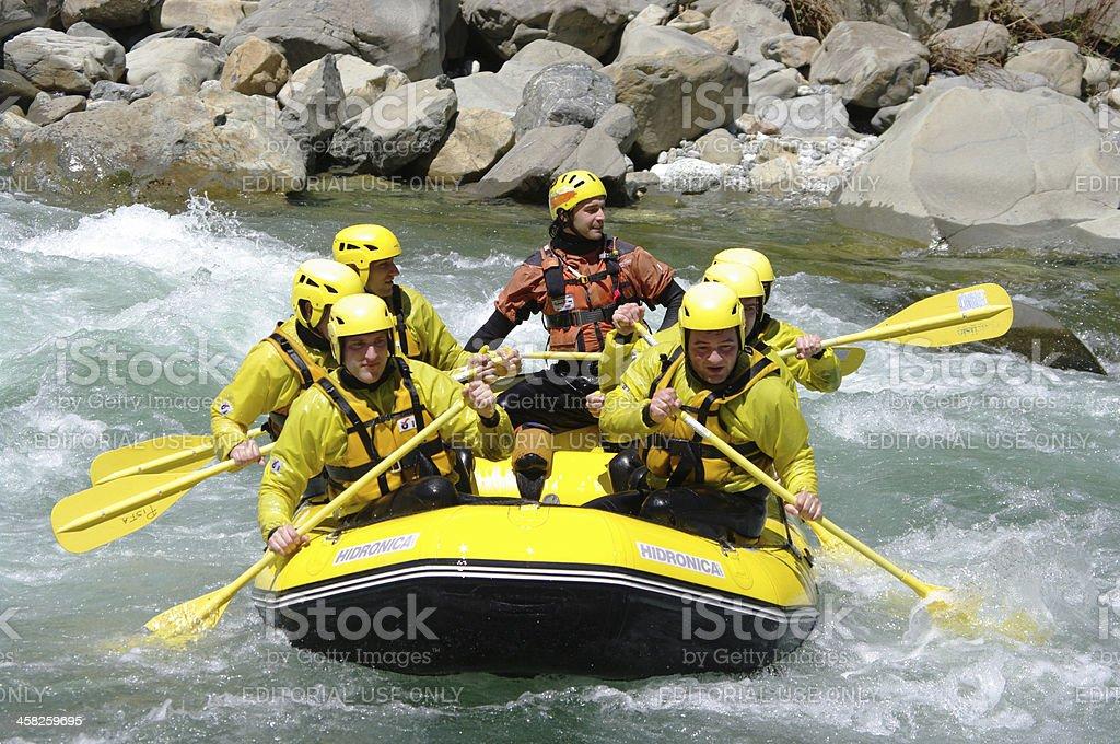 Rafting sport royalty-free stock photo